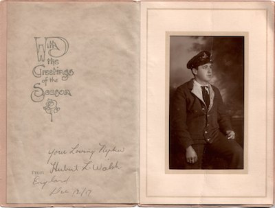 Herbert Walsh WWI soldier