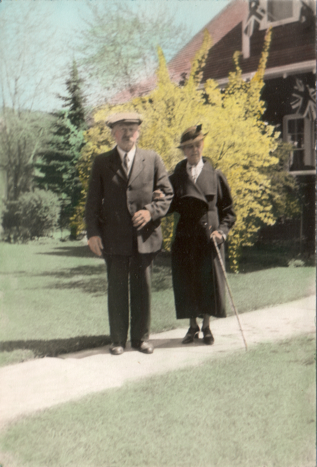 William Chappell and his wife Elizabeth Emma Farthing