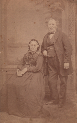 Portrait of William and Harriet (Bolt) Oaten
